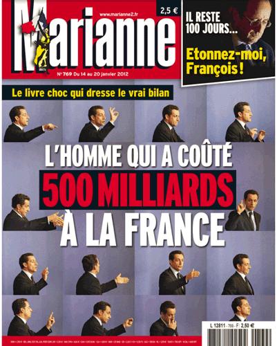 Sarkozy : le BB à 600 milliards pour nos pommes