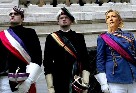 Marine Le Pen piégée par l'Autrichien Martin Graf ?