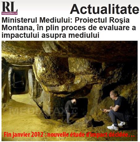 Roumanie : l'argent sale de Roia Montan