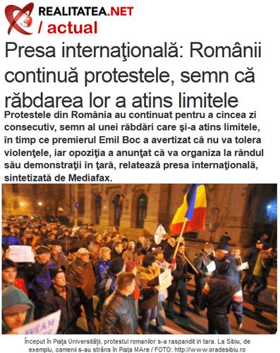 Roumanie : majorité, opposition, même misère