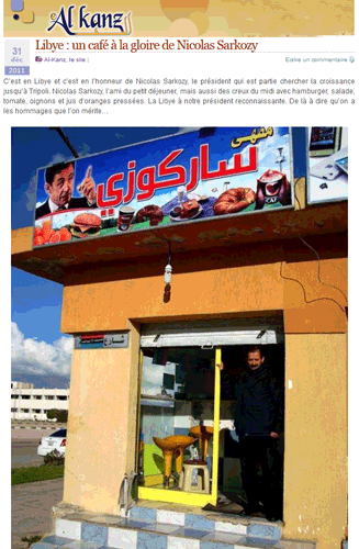 Libye : l'ingratitude de Sarko à l'endroit de BHL