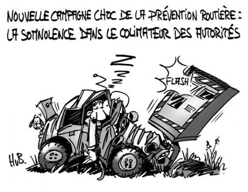 Prévention Routière : nouvelle campagne choc