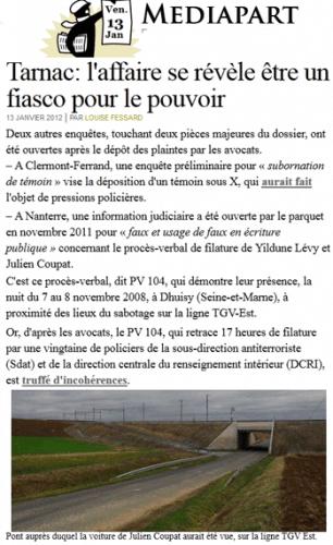 Tarnac & Coupat ; Bachar & Jacquier : les livres !