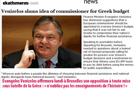 Eurozone : les Grecs disent nein !