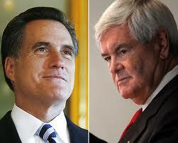 Gingrich-Romney : le torchon  brûle