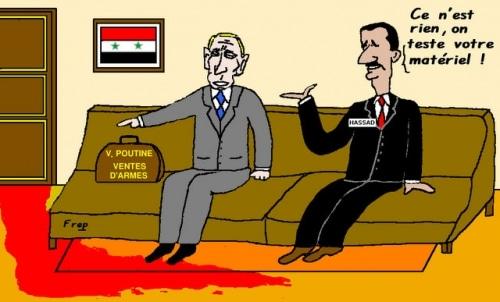 Syrie ,  le  massacre  continue  !