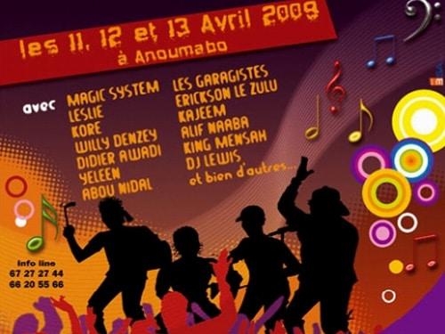 Magic Système : Le femua (Festival de Musique Urbaine d'Anoumabo)