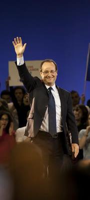 François Hollande en vendeur de rêves
