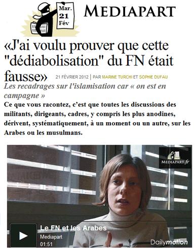 Dupont-Aignant : Marine Le Pen piégée par le Front