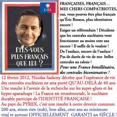 Nucléaire : Sarkozy ne décide de rien !