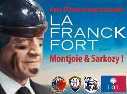 Sarkozy, candidat du frank fort