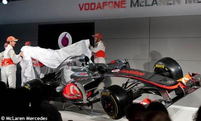 McLaren dévoile sa voiture 2012 – la MP4-27