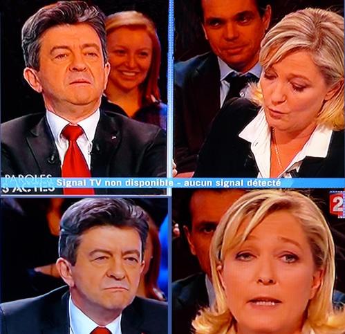 Mélenchon-Le Pen : seconds couteaux tirés
