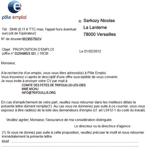 Référendum sur le chômage : quels emplois pour Sarkozy ?