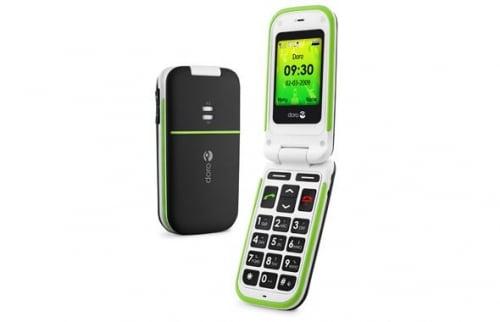 Un téléphone mobile spécialement adapté aux seniors.