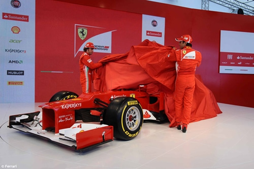 Ferrari dévoile sa voiture 2012 – la  F2012
