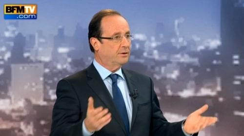 Hollande choisit la stratégie de l'esquive.