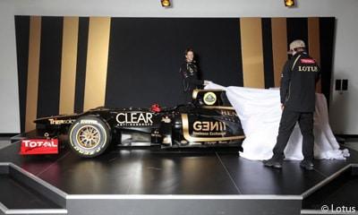 F1 – Lotus F1 dévoile sa voiture  2012 – La E20