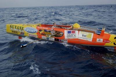 Un point sur la 3e édition de la course Dakar-Cayenne à la rame.