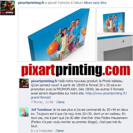 Les « tableaux » de Pixar Printing (Pixart.it)