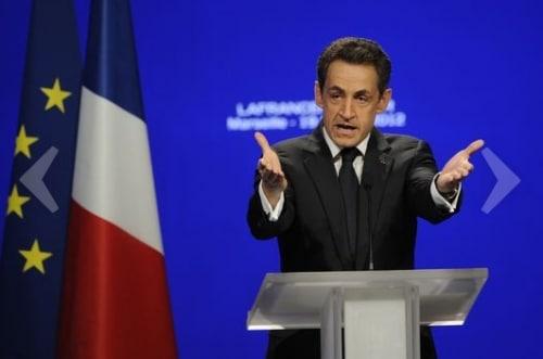 Meeting de Marseille : un discours violent de Sarkozy contre son principal concurrent !