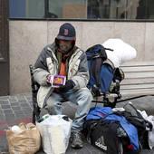 Les «sans domicile fixe» de marseille, sans bagages !