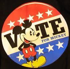 Je vote pour Mickey !