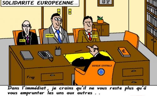 Solidarité  européenne . .