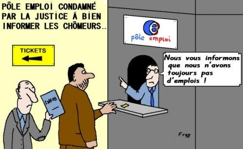 Pole Emploi condamné à mieux informer les chômeurs !