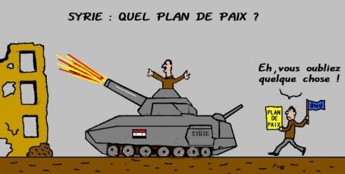 Syrie : quel plan  de  paix  ?