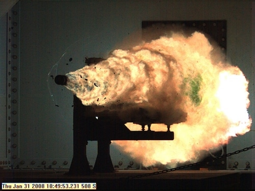 Une nouvelle arme de guerre – Le canon électromagnétique