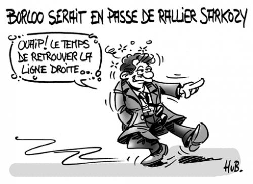 Borloo en passe de rallier Sarkozy