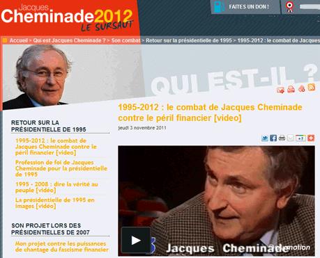 Jacques Cheminade, le définancier
