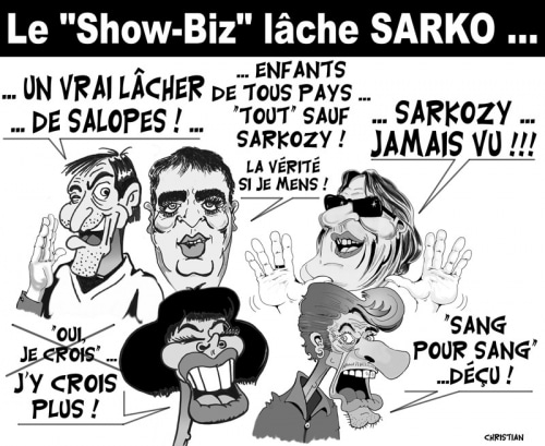 Show-Biz … Qui veut encore soutenir Nicolas SARKOZY ?