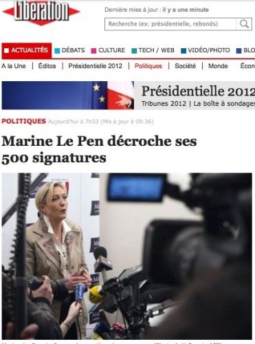 Un non-événement : Marine Le Pen a bien ses 500 signatures !