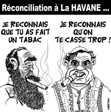 Gainsbourg avait raison ! : Dieu est un fumeur de HAVANE …