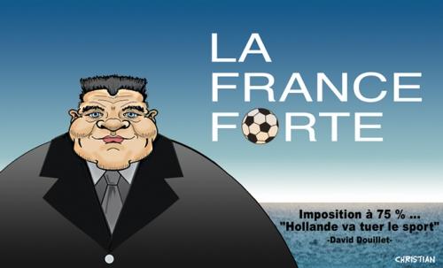 La FRANCE … très FORTE …