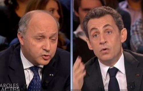 Sarkozy-Fabius à la télé. Un débat de coqs ?