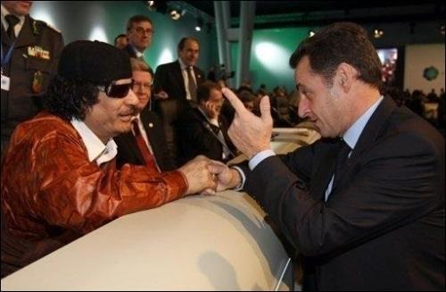 Sarkozy ou l'amnésie libyenne