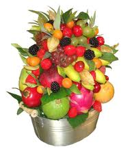 Les fruits et les légumes et les saisons.