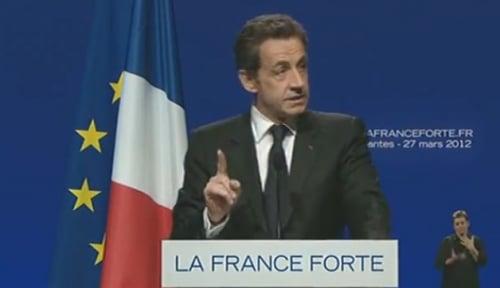 Quand Nicolas Sarkozy accuse la CGT de l'empêcher de parler…