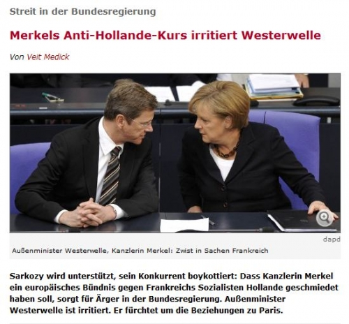 De quoi je me mêle, madame Merkel ?