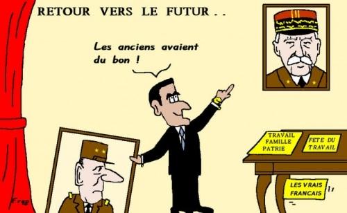 Campagne présidentielle : retour  vers  le  futur . .