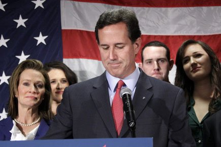Primaire Us : Santorum lâche prise