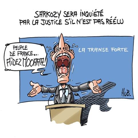 Sarkozy : Aidez-moi!