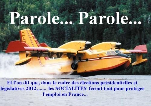 Présidentielle et législatives 2012, les mensonges au kilomètre…