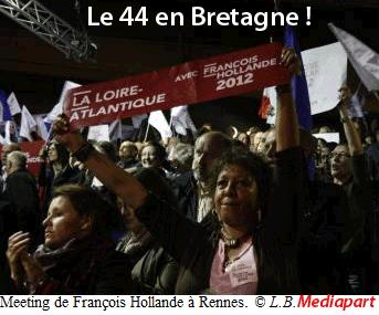 À Rennes, François et Ségolène des Landes