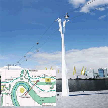 Téléphérique urbain : après Londres, Paris ?