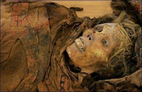 Les momies d'Egypte