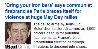 Sarkozy dramatise la Fête du Travail